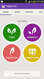 HappyCow Find Vegan Food FREE Screenshot 1