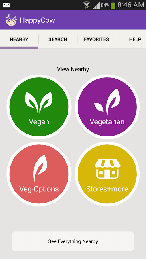 HappyCow Find Vegan Food FREE- screenshot