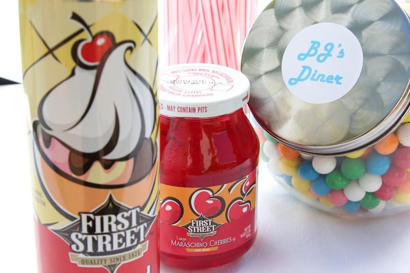 Photo: First Street Whipped Cream and Maraschino Cherries