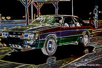 Photo: Wow, it's that car # 420 again...