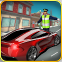 Traffic Cop NYC Police Car icon