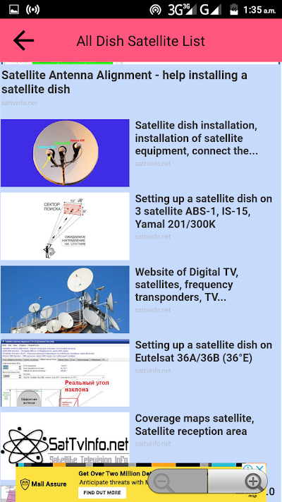 All Dish Channel Info PowerVu Biss Key & Frequency APK Download