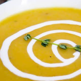 Pressure Cooker Potato Leek Soup.