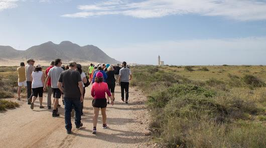 Las rutas de 'Filming Almería' se despiden con un sendero