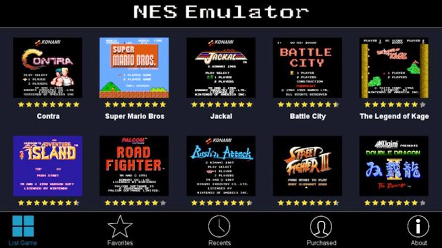 Download NES Emulator + All Roms + Arcade Games Pro APK latest