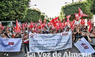 Huelga del sector textil almeriense
