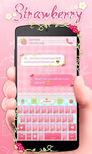 Strawberry Keyboard Theme