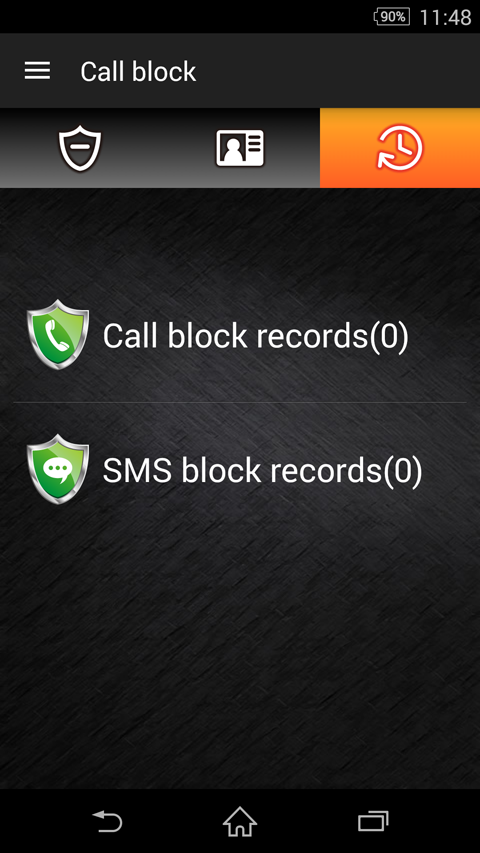 Call block [block call or sms]- screenshot