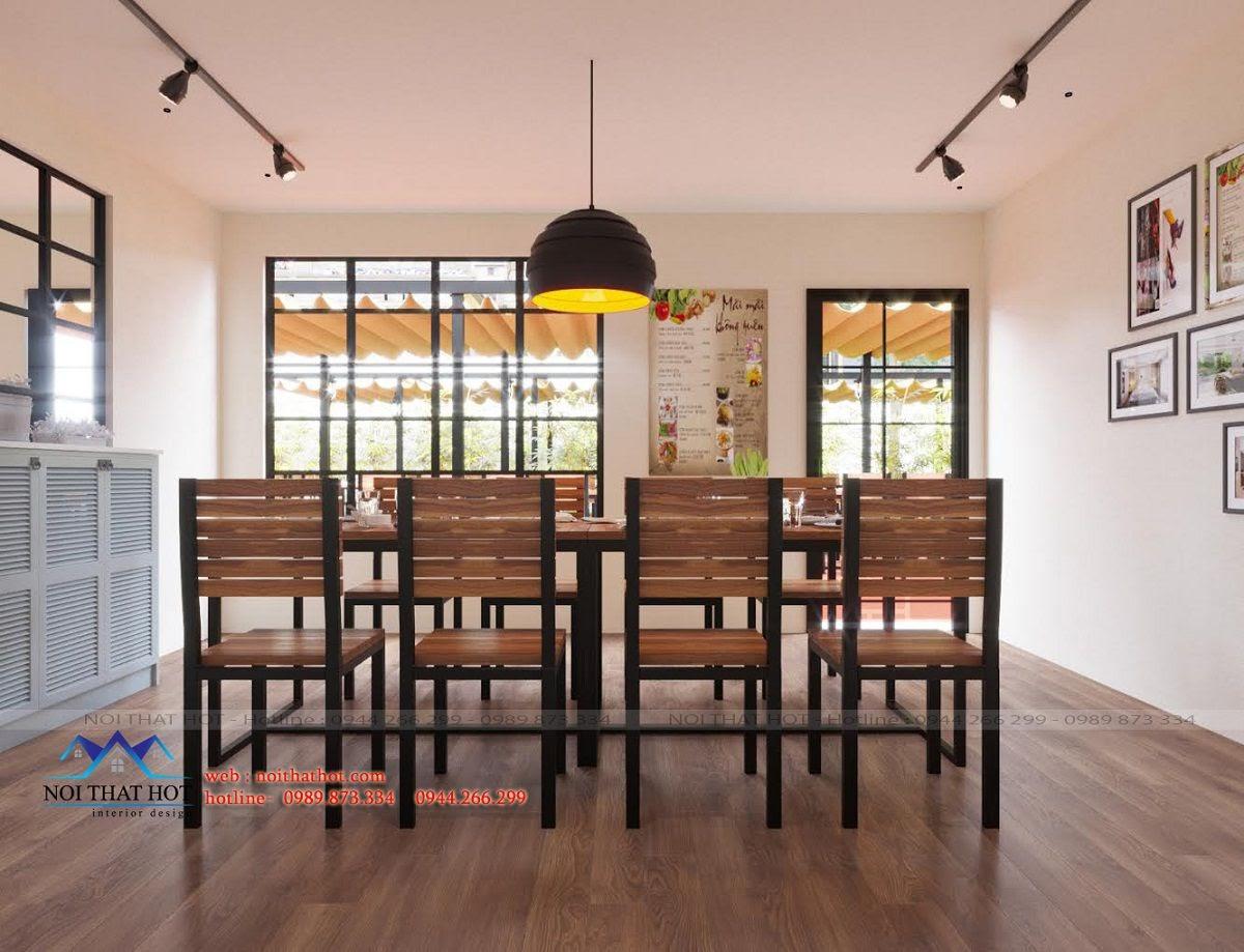 thiết kế nội thất nhà hàng, thiết kế nhà hàng đẹp mắt