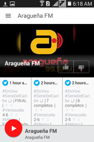 Aragueña FM- screenshot