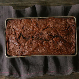 Banana Bread with Nutella Swirl and Cocoa Nibs