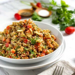 Orange Bulgur Wheat Salad.