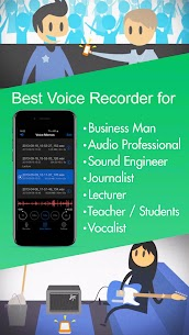 Voice Recorder High Quality Audio Recording 1.1.3 Ad Free 4
