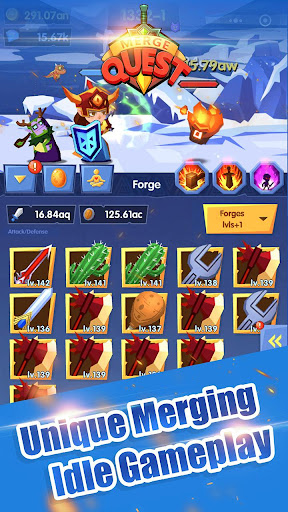 Code Triche Merge Quest APK MOD screenshots 3