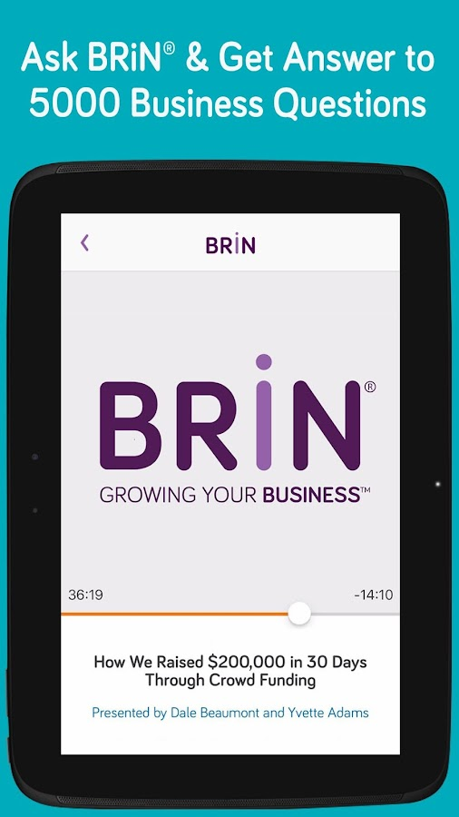 BRiN® - Growing Your Business™- screenshot