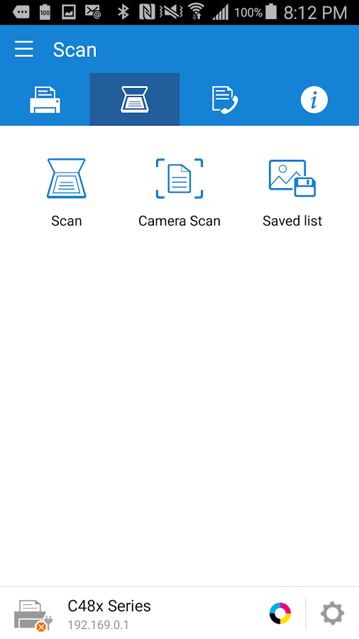 Samsung Mobile Print- screenshot