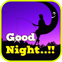 Good Night Greeting Card icon