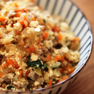Easy Scrambled Tofu with Lots of Vegetables!