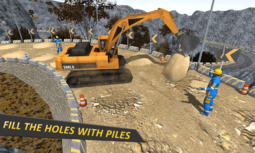 Uphill Highway Construction: Road Building Sim 1.2 screenshots 2