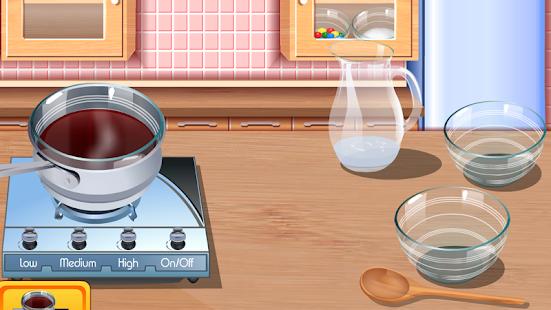 hry dívky vaření pizzu - náhled