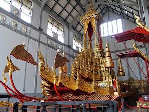 Photo: Chariots funéraires - Museum National de Bangkok