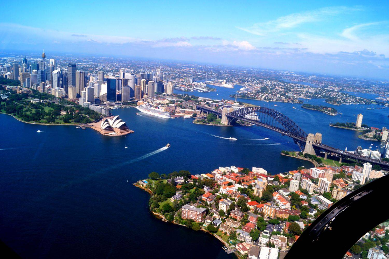Sydney from 1.000ft in a Helicopter | Photo Sequence