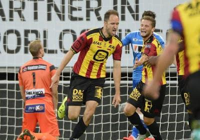 """Veselinovic was sterk met KV Mechelen op bezoek bij AA Gent: """"Misschien speelden wij wel op Champions League-niveau"""""""