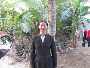 """Photo: """"Ms.Phan Thị Kỳ 1. Số hiệu(ID member): 15011885 2. Tuổi(Age): 56 3. Địa chỉ(Address): Cụm 26 - Thôn Bảo Chúc - TT Hợp Hòa,Tam Duong District, Vinh Phuc province, Vietnam. 4. Thông tin gia đình(Household's information): Gia điình TV có 04 khẩu, 04 lao động chính. 02 vợ chồng chăn nuôi bò, lợn nái, gà và 01 mẫu ruộng (Member's family has 04 people, 04 main labors. She and her husband breed cows, sows, chickens and have 01 acre of farmland) 5. Ngày vay(Date of loan): 01-01-2015 6. Mức vay(Loan size): 8.000.000 7. Mục đích vay(Loan purpose): Chăn nuôi/livestock farming"""""""