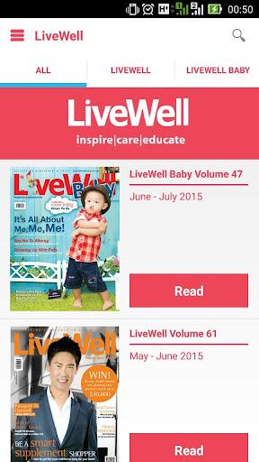 LiveWell eMagazine
