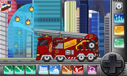 Triceratops - Combine! Dino Robot : Dinosaur Game screenshots 2