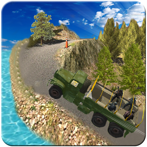Military Truck Driver : Army Offroad Jeep Driving