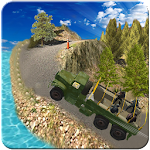 Military Truck Driver : Army Offroad Jeep Driving Icon