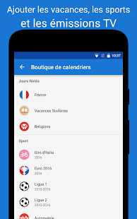DigiCal Agenda – Vignette de la capture d'écran