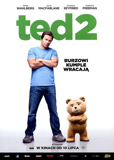 Przód ulotki filmu 'Ted 2'
