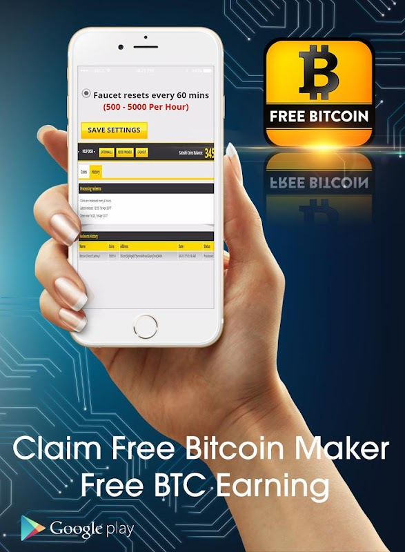 Download Bitcoin Claim Free 2017 APK 4 4 by Free Bitcoin BTC Claim