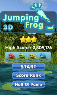 Jumping Frog 3D (Jump advance)- screenshot thumbnail