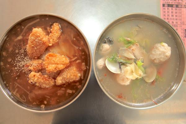源味海鮮粥/土魠魚羹