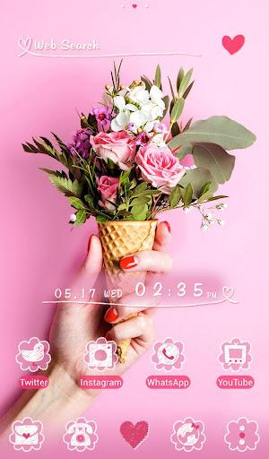Cute Wallpaper Flower Cone 1.0.0 Windows u7528 1