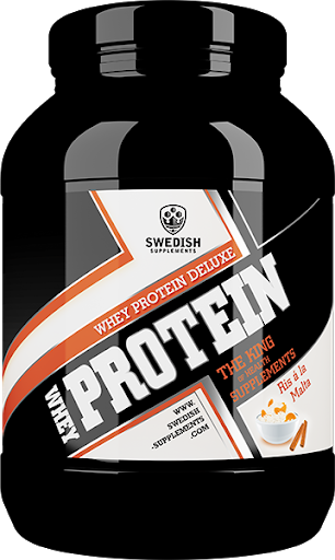 Swedish Supplements Whey Deluxe Protein 900g - Ris á la malta