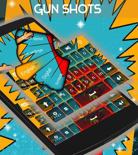 無料生活Appのガンショット悪ふざけキーボード|HotApp4Game