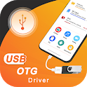 OTG USB Driver for Android: USB to OTG Converter icon