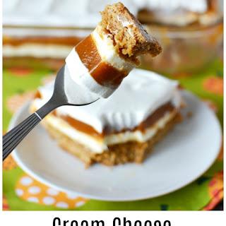 Cream Cheese Pumpkin Dessert.