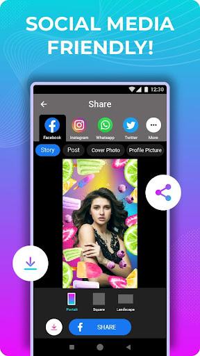 Wowfie - 100% Indian Photo Editor App 1.7.3 screenshots 7