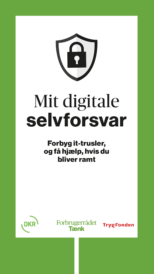 Mit digitale selvforsvar- screenshot