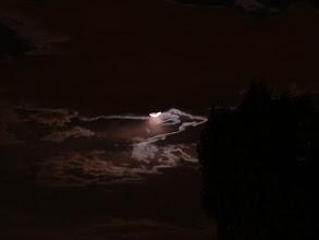 Photo: Spooky moon!