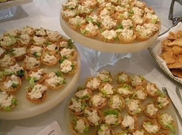 Orange Chicken Salad Cups Recipe