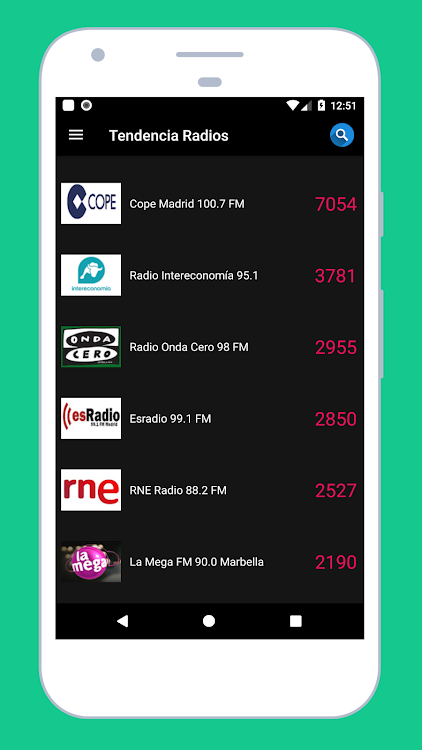 Radio Spain: Listen to Radio Online + FM Radio App