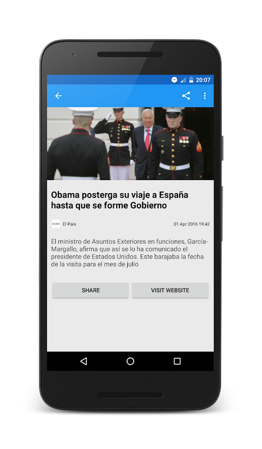Spanish news noticias android apps on google play for App noticias android