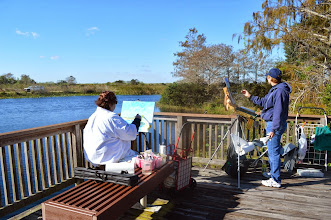 Photo: Donna and Chris / Artists at Loxahatchee Wetlands 1-16-14