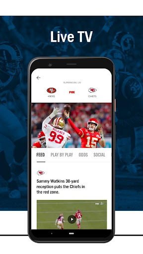 FOX Sports: Latest Stories, Scores & Events screenshots 5